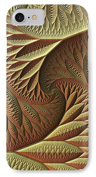 IPhone Case featuring the digital art Golden by Lyle Hatch