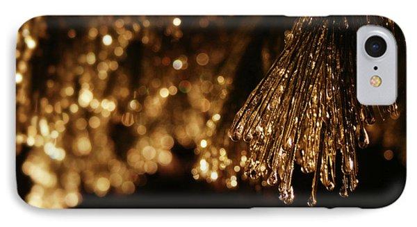 Golden Merry Christmas IPhone Case