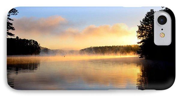 Golden Mist IPhone Case