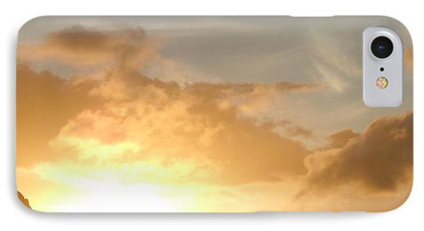 Golden Oahu Sunset IPhone Case by Karen J Shine