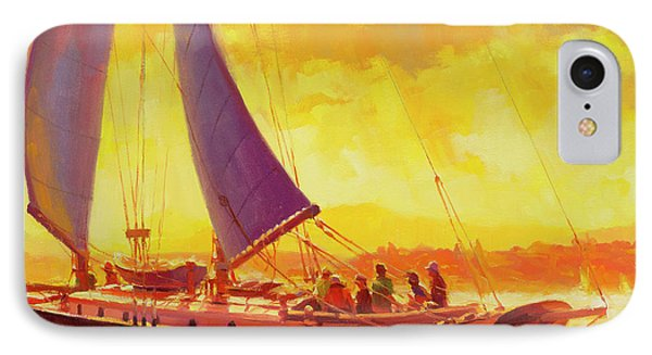 Pacific Ocean iPhone 7 Case - Golden Opportunity by Steve Henderson