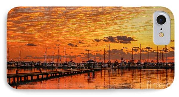 Golden Orange Sunrise IPhone Case by Tom Claud