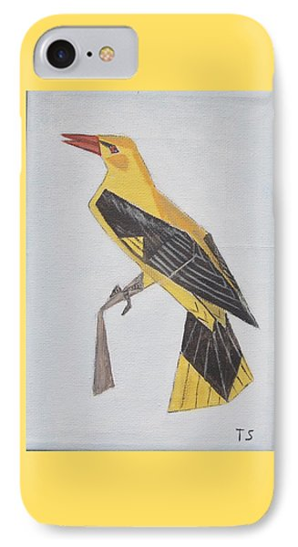Golden Oriole IPhone Case by Tamara Savchenko