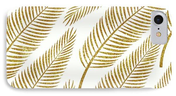 Golden Palm IPhone Case