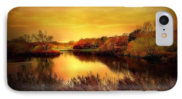 Golden Pond Phone Case by Jacky Gerritsen