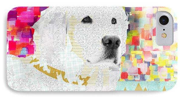 Golden Retriever Collage IPhone Case by Claudia Schoen