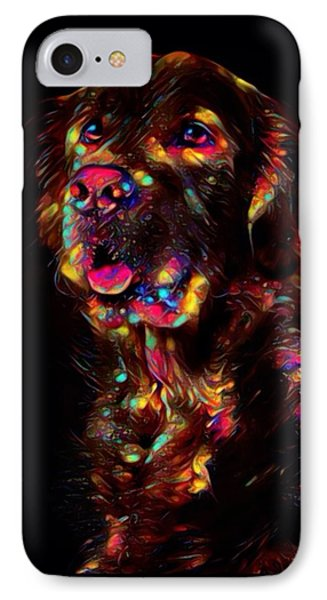 Golden Retriever Color Splash  IPhone Case