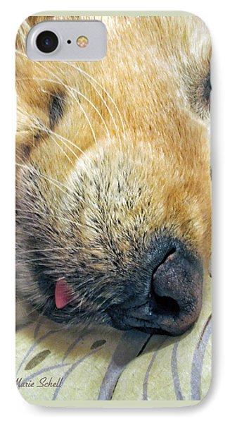 Golden Retriever Dog Little Tongue IPhone Case