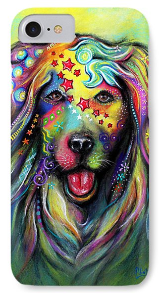 Golden Retriever IPhone Case by Patricia Lintner