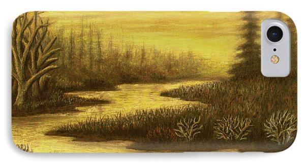 Golden River 01 IPhone Case