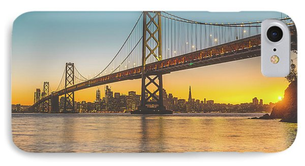 Golden San Francisco IPhone Case by JR Photography