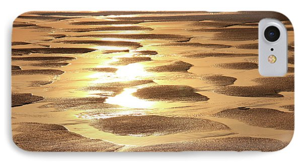 Golden Sands IPhone Case by Roupen  Baker