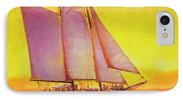 Pacific Ocean iPhone 7 Case - Golden Sea by Steve Henderson