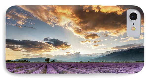 Golden Sky, Violet Earth Phone Case by Evgeni Dinev