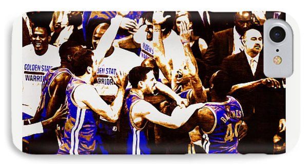 Golden State Warriors 2015 Nba Finals IPhone Case