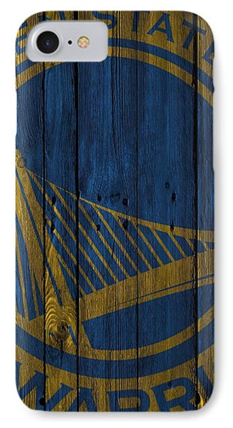 Golden State Warriors Wood Fence IPhone Case by Joe Hamilton