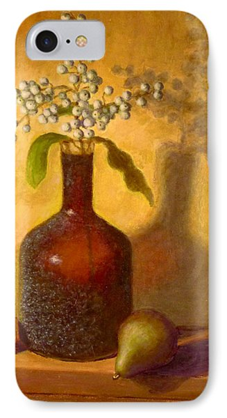 IPhone Case featuring the painting Golden Still Life by Joe Bergholm