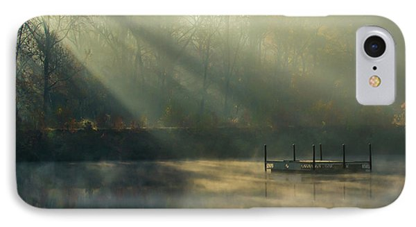 IPhone Case featuring the photograph Golden Sun Rays by George Randy Bass