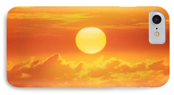 Golden Sunball Phone Case by Bob Abraham - Printscapes