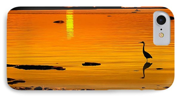 Golden Sunset At The Bay IPhone Case