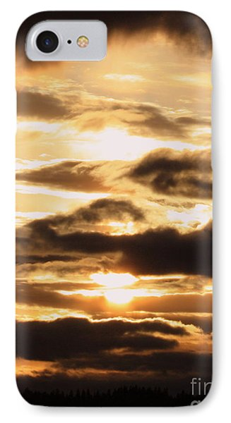 Golden Sunset Phone Case by Carol Groenen