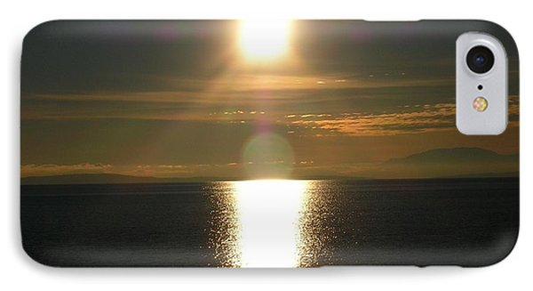 IPhone Case featuring the photograph Golden Sunset by Kim Prowse