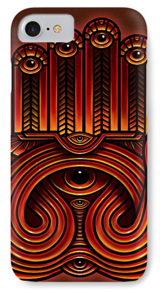 Golden Teacher 10 Phone Case by George Coghill