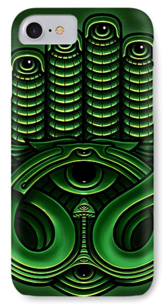 Golden Teacher 11 Phone Case by George Coghill