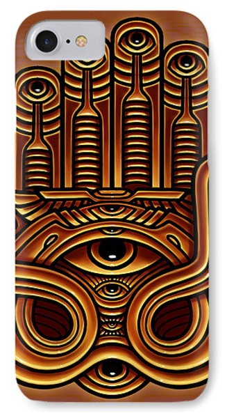 Golden Teacher 17 Phone Case by George Coghill