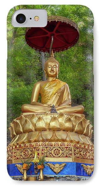 Golden Thai Buddha IPhone Case by Adrian Evans