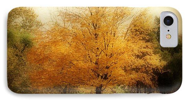 Golden Tree Phone Case by Sandy Keeton