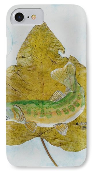 Golden Trout IPhone Case by Ralph Root