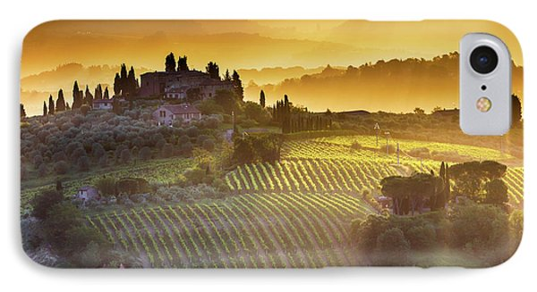 Golden Tuscany Phone Case by Evgeni Dinev
