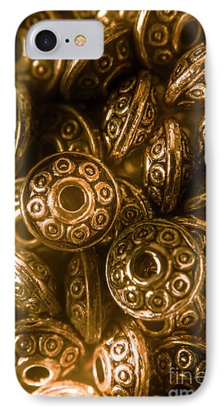 Golden Ufos From Egyptology  IPhone Case by Jorgo Photography - Wall Art Gallery