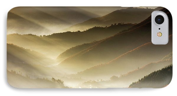 Golden Valley Phone Case by Evgeni Dinev