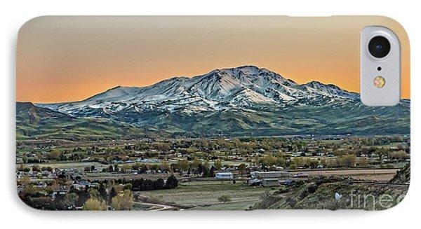Golden Valley IPhone Case by Robert Bales
