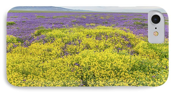 IPhone Case featuring the photograph Goldfield And Phacelia by Marc Crumpler