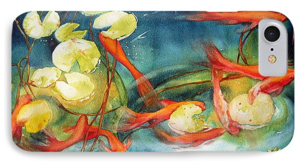 Goldfish Pond IPhone Case
