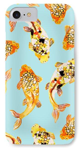 Goldfish IPhone Case by Uma Gokhale