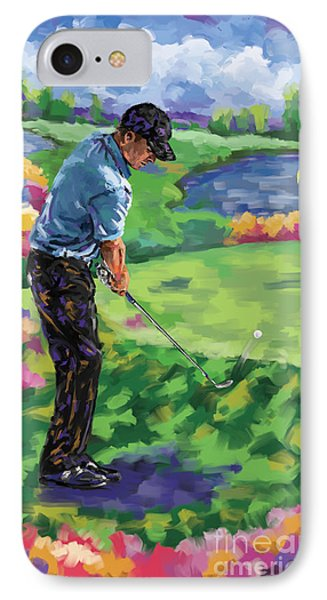 Golf 3 IPhone Case by Tim Gilliland