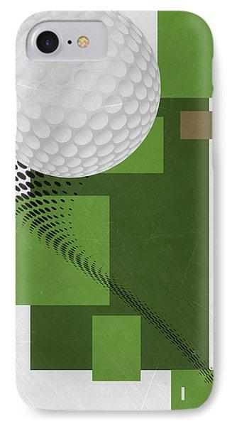 Golf Art Par 4 IPhone 7 Case