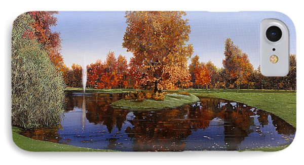 Golf  Cherasco IPhone Case by Guido Borelli