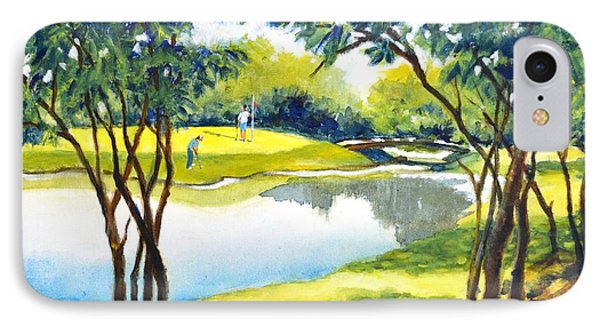 Golf Haven IPhone Case by Betty M M Wong