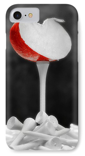 Banana iPhone 7 Case - Golf Slice Still Life by Tom Mc Nemar