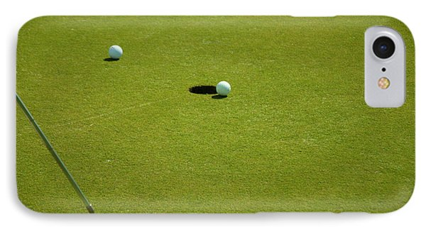 Golf - The Longest Inch IPhone Case by Chris Flees