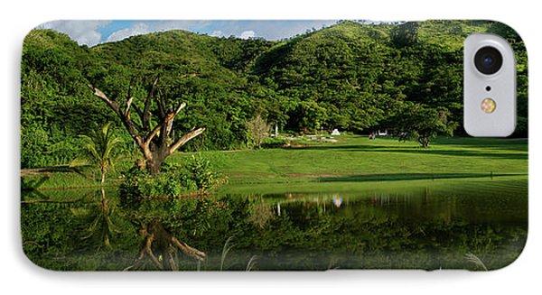 Golfito Desde La Laguna Phone Case by Bibi Rojas