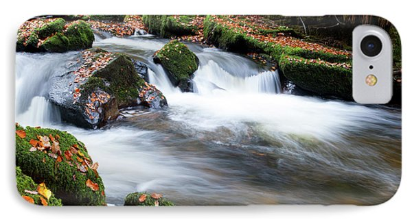 Golitha Falls IIi IPhone Case by Helen Northcott