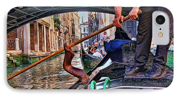 IPhone Case featuring the photograph Gondola 2 by Allen Beatty