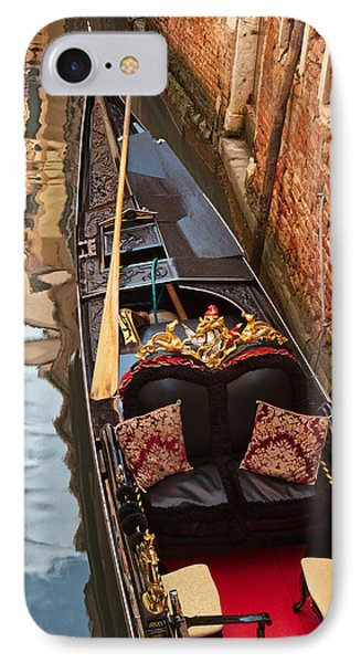 Gondola At Rest IPhone Case by Kim Wilson