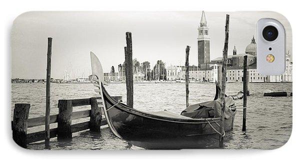 Gondola In Bacino S.marco S IPhone Case by Marco Missiaja